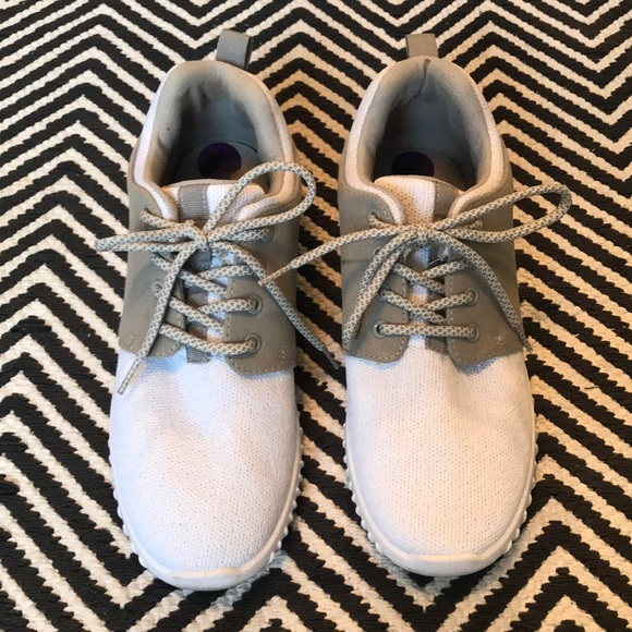 Madden Girl Shoes | Grey White Sneakers